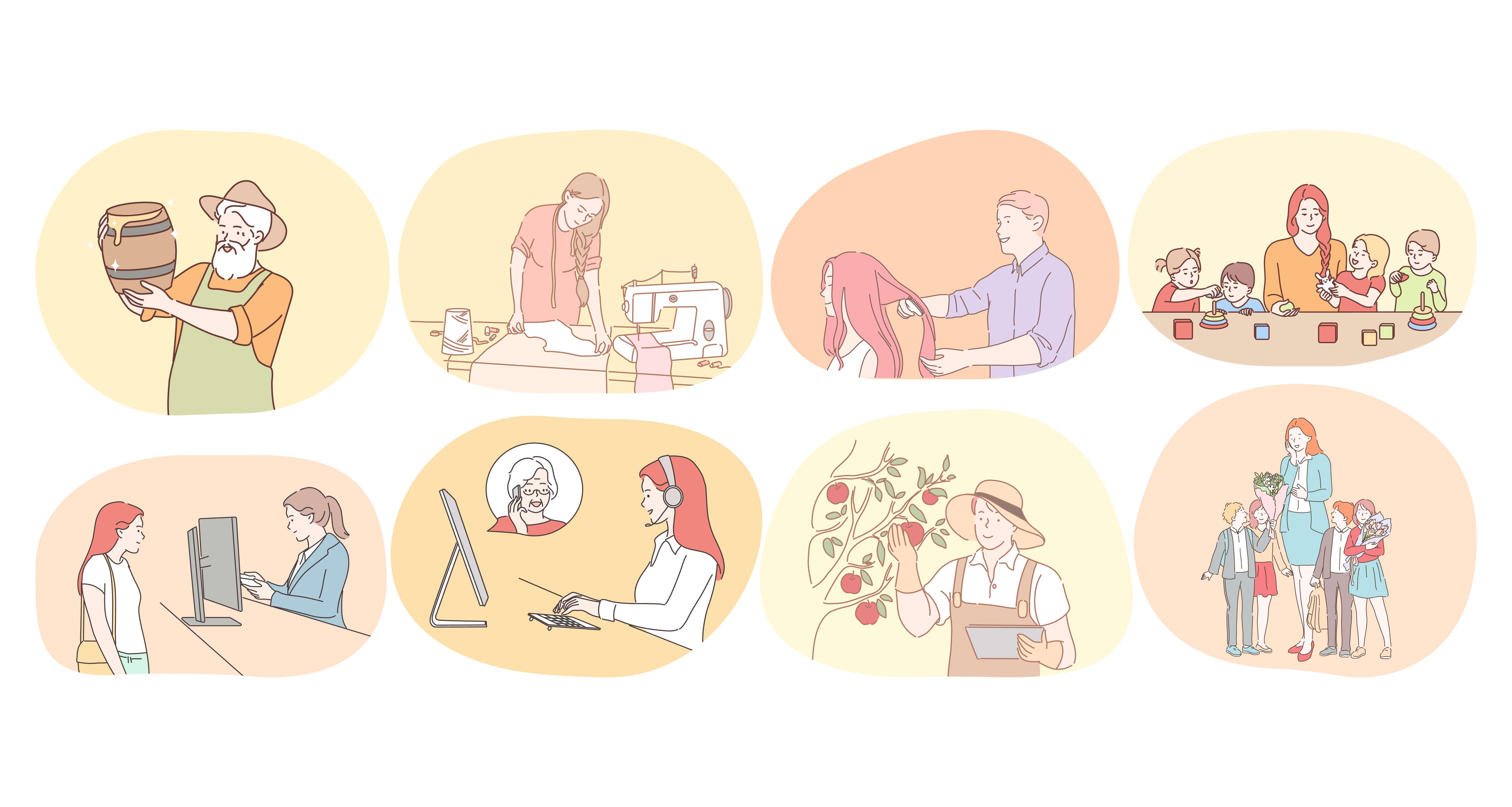 仕事選びと職種理解